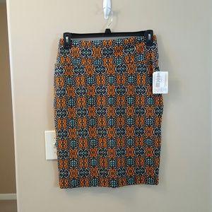 Lularoe Cassie pencil skirt.  NWT.